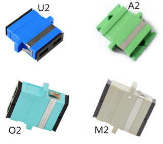 MT-1032-SC2 SC Duplex Fiber Optic Adaptor Adapter-Comm Cable Simplex Singlemode & Multimode Coupler-Melontel