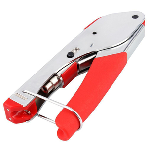 MT-8302 Factory Price Red Handle Coaxial Cable Crimping Tool For F Connector