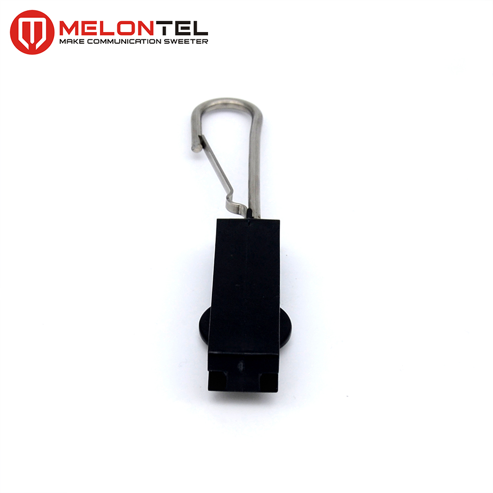 MT-1721 S Type FTTH Drop Wire Retainers Anchor Suspension Clamp with Hook Lock
