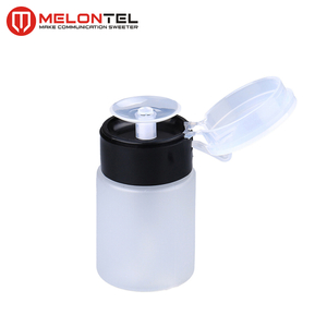 MT-8728 Factory supply FTHH 60ml 100ml 200ml plastic alcohol empty bottle alcohol despenser