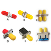 MT-1032 ST Fiber Optic Adaptor Adapter-Comm Cable Simplex Singlemode & Multimode Coupler-Melontel