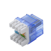 MT-5113 RJ45 CAT6 180 Degree Keystone Jack with Transparent Cover