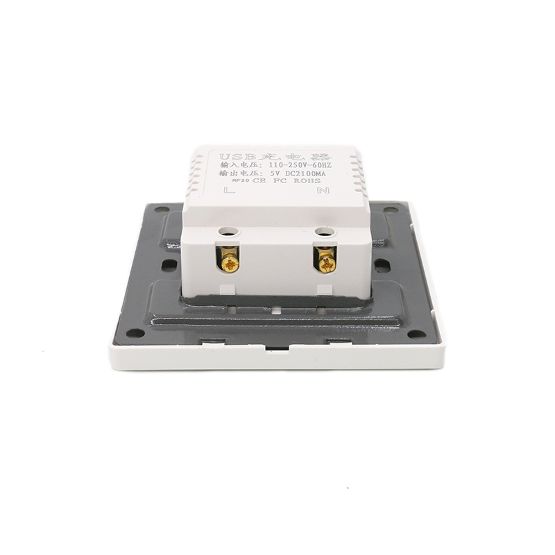 MT-5961 Face Plate Keystone Face Plate Adapters USB Wall Plate