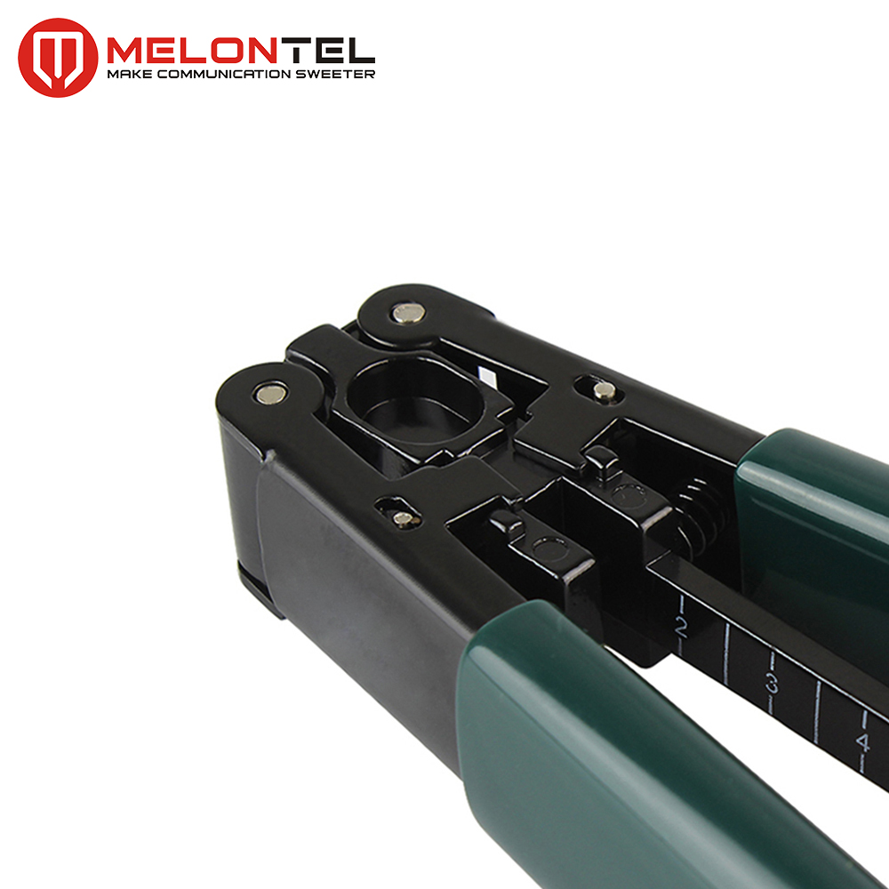 MT-8904 Fiber Optic Stripper Jacket Stripping Tool For NBN Work FTTH Cable Striping Plier