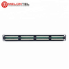 MT-4007 19 Inch 1U 12/18 Port Dual IDC AMP Type Cat.5e Cat.6 Patch Panel With Dual IDC