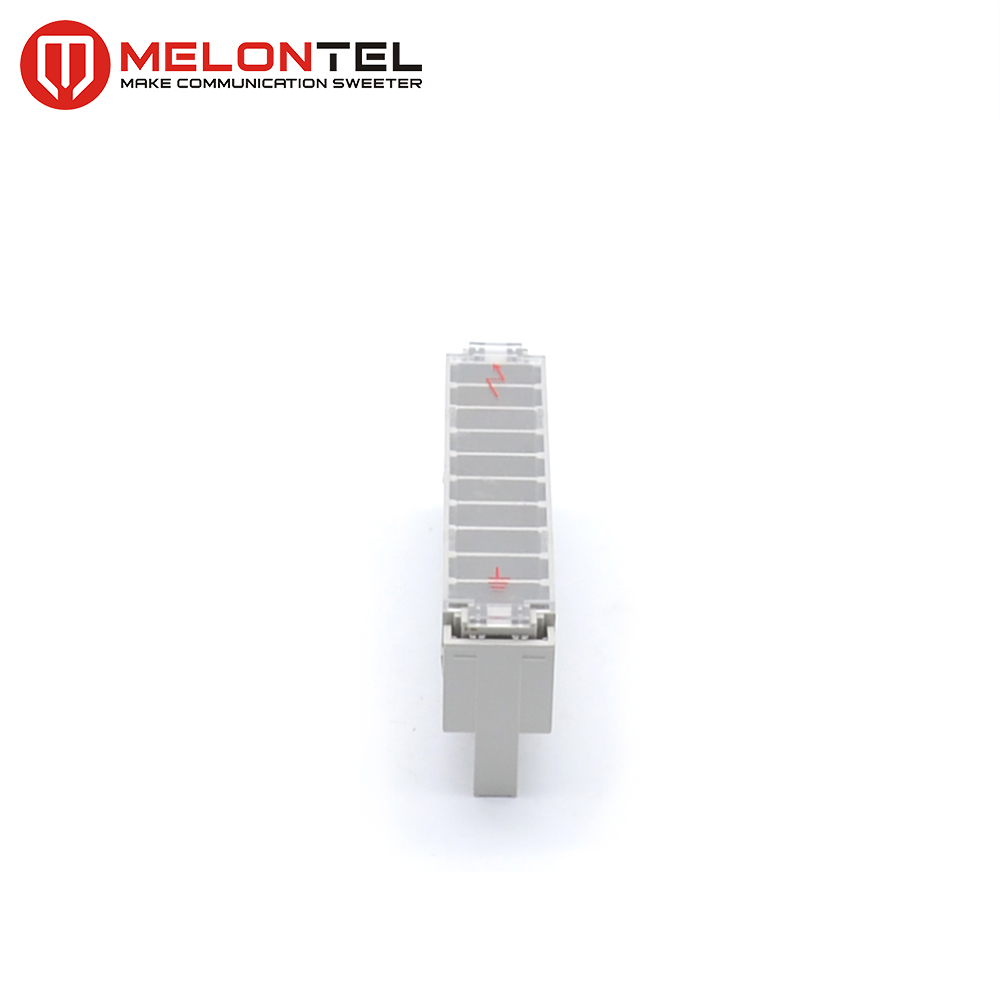 MT-2112 2 pole arrester magazine with 2 pole arrester