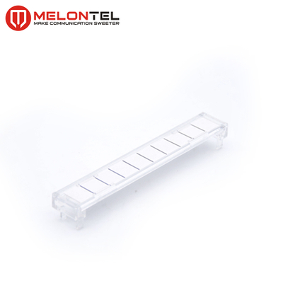 MT-2121 6089 2 015-02 6089 2 015-01 8 pair or 10pair transparent krone module label holder