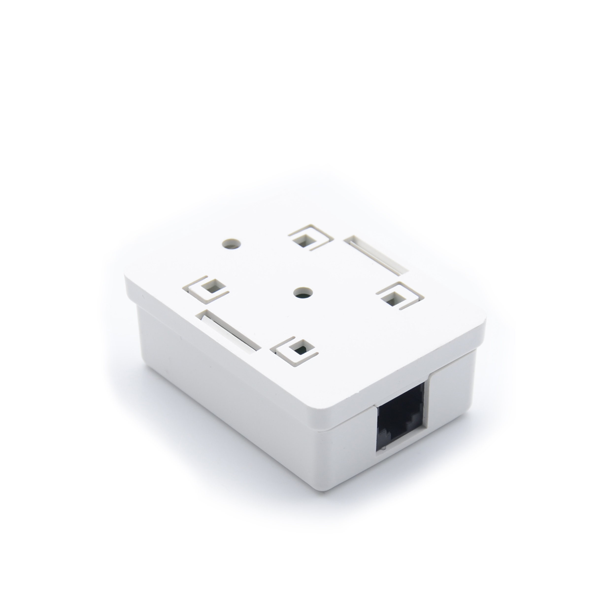 MT-5825 1 Port RJ45 Wall Outlet Single Port RJ45 Surface Mount Box CAT.5E CAT.6 UTP Type