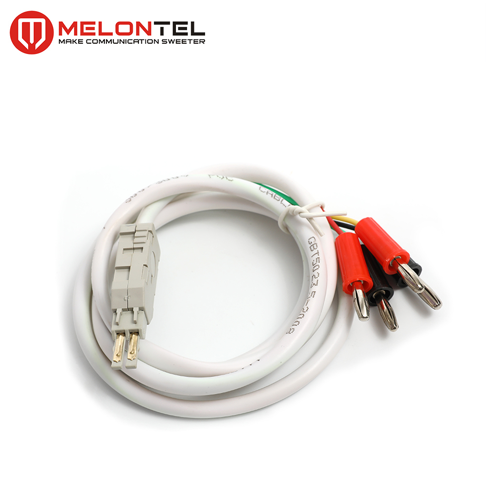 MT-2152 4 core test cord test cable with banana plug