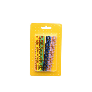 MT-4551 Network Cable Management Plastic Type High Quality Colorful Underground Cable Marker Strips