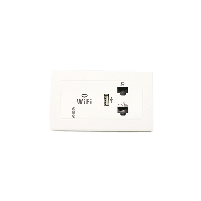 MT-5963 300Mbps 2.4ghz 5.8ghz Dual Band In Wall AP Wireless Access Point WiFi Signal Booster 86 Panel Wifi Face Plate
