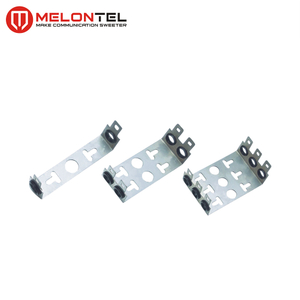 MT-2201 6973 1 210-01 304 stainless steel Krone stainless steel 10 pair 1 way back mount frame