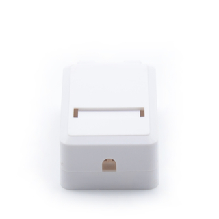 MT-5823 Keystone Jack Network Outlet Network Cable Surface Box Surface Wall Mount Box Single Dual Port