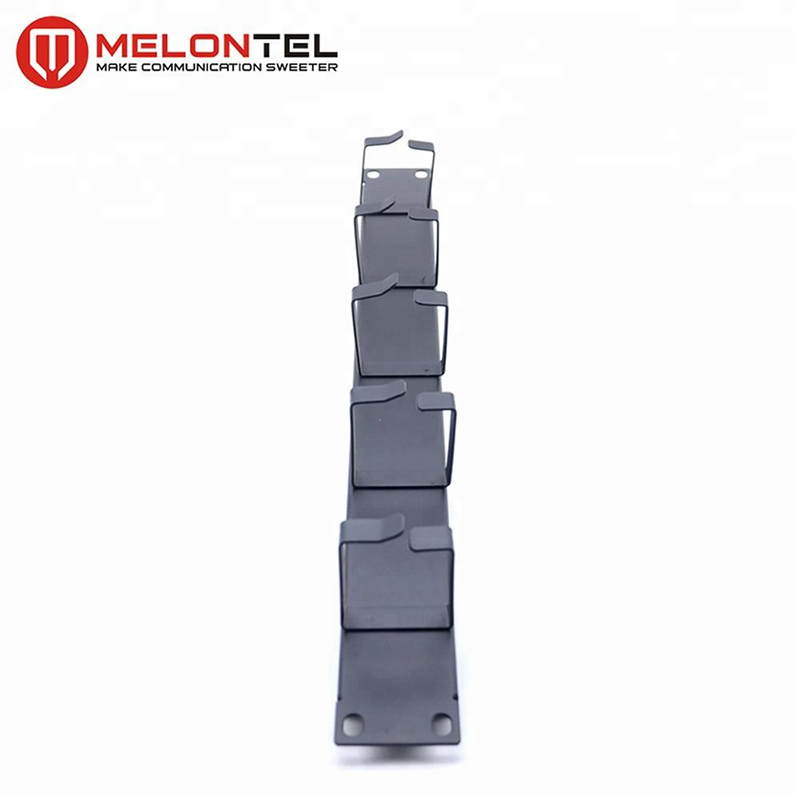 MT-4409 1U 19 Inch Wire Management Network Cable Organizer Cable Manager